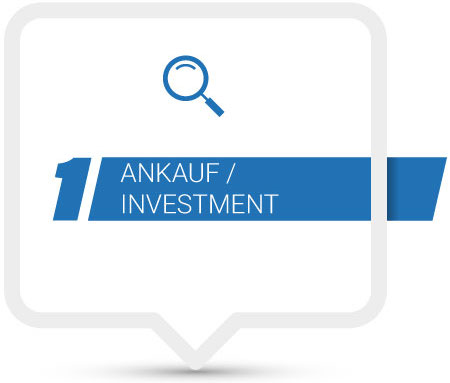 Ankauf / Investment